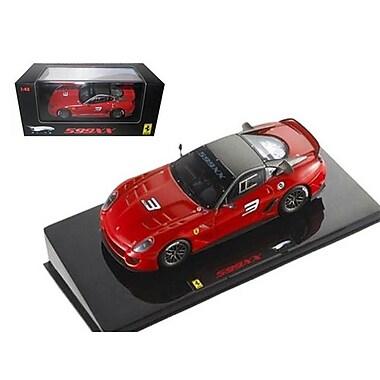 Hot wheels Ferrari 599XX No.3 Red Elite Edition 1-43 Diecast Car Model (DTDP2344)