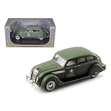 Signature Models 1936 Chrysler Airflow Army Green 1-32 Diecast Model Car by Signatrure Models (DTDP1018)