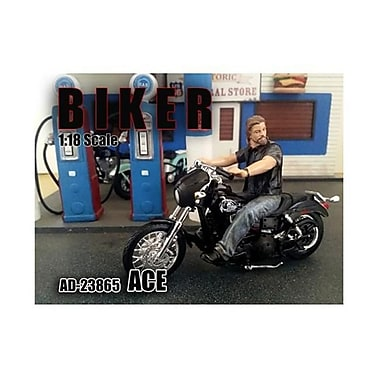 American Diorama Biker Ace Figure for 1-18 Scale Models (DTDP2022)