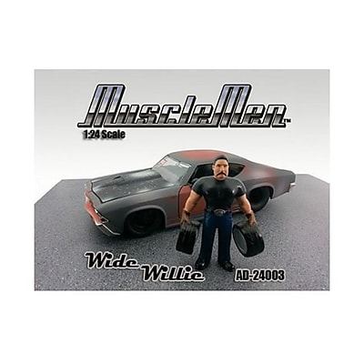 American Diorama Musclemen Wide Willie Figure for