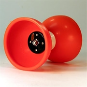 Zeekio Triple Bearing Axle Trinity Diabolo, Orange (YYSM050)