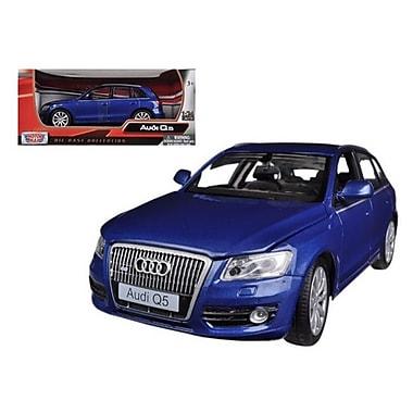 Motormax Audi Q5 Blue 1-24 Diecast Car Model (DTDP621)
