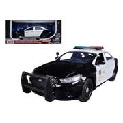 Motormax 2013 Ford Police Interceptor LAPD Los Angeles Police Department Car 1-24 Diecast Car Model (DTDP630)