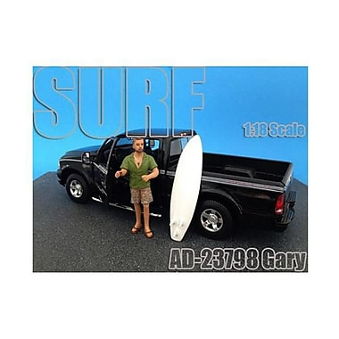 American Diorama Surfer Gary Figure for 1-18 Diecast Model Cars (DTDP1837)