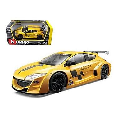 Bburago Renault Megane Trophy Racing Yellow 1-24 Diecast Model Car (DTDP410)