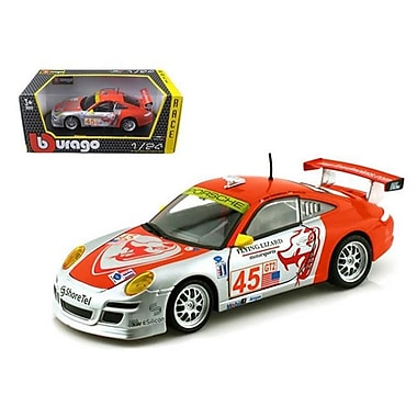 Bburago Porsche 911 GT3 RSR No.45 Flying Lizard 1-24 Diecast Car Model (DTDP413)