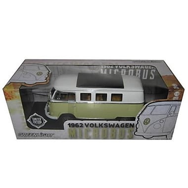 Greenlight 1962 Volkswagen Microbus Olive Green Limited t300pc 118 Diecast Model Car (DTDP3694)