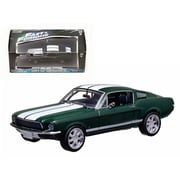 Greenlight Seans 1967 Ford Mustang The Fast & The Furious Movie 2006 Tokyo Drift 1-43 Diecast Car Model (DTDP2129)