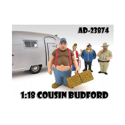 American Diorama Cousin Budford Trailer Park Figure