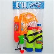 Arcady 17 in. Water Gun with Backpack Double Tank - Orange, Yellow (DLR339968)