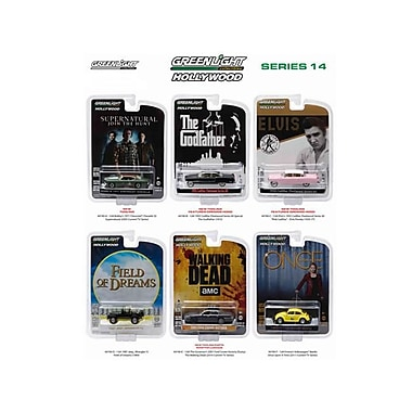 Greenlight 1 by 64 Diecast Hollywood Series & Release 14 Diecast Car Set (DTDP2869)
