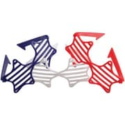 US Toy Patriotic Star Shutter Toy Glasses - 12 Per Pack - Pack of 13 (USTCYC175421)