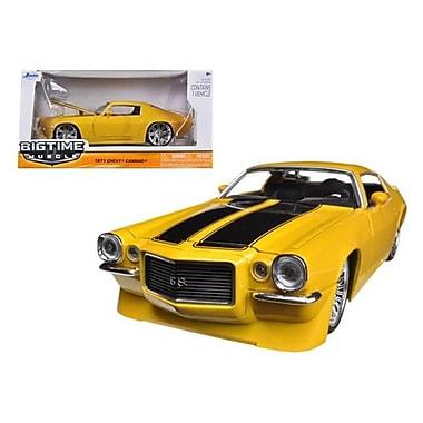 Jada 1971 Chevrolet Camaro SS Yellow 1-24 Diecast Car Model (DTDP1362)