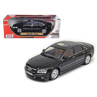 Motormax 2004 Audi A8 Black 1-18 Diecast