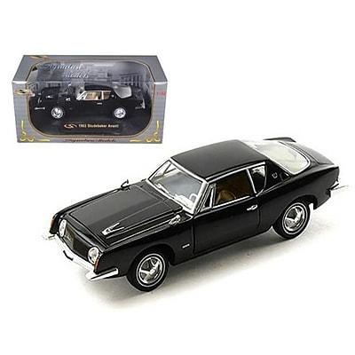 Signature Models 1963 Studebaker Avanti Black 1-32