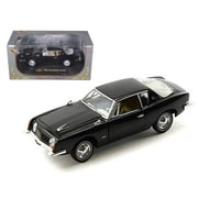 Signature Models 1963 Studebaker Avanti Black 1-32 Diecast Car Model (DTDP962)