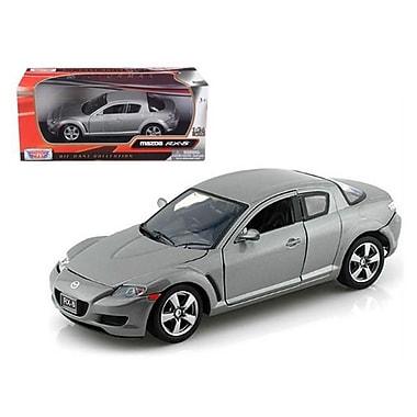 Motormax Mazda RX-8 Grey 1-24 Diecast Car Model (DTDP649)