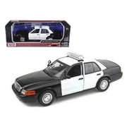 Motormax Ford Crown Victoria Unmarked Police Car 1-18 Diecast Model Car (DTDP726)