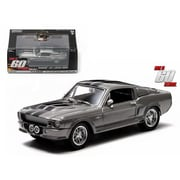 Greenlight 1967 Ford Shelby Mustang GT500 Eleanor Gone in Sixty Seconds Movie 2000 1-43 Diecast Car Model (DTDP2117)