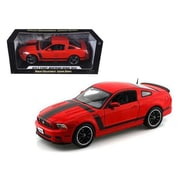 Shelby Collectibles 2013 Ford Mustang Boss 302 Red 1-18 Diecast Car Model (DTDP1091)
