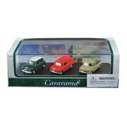 Cararama 1 by 72 Scale Diecast Mini Cooper Gift Set in Display Showcase Model Car, 3 Piece (DTDP3017)