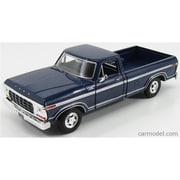 Motormax 1979 Ford F-150 Pickup Truck Diecast Model Car for 1-24 Scale, Blue (DTDP3867)