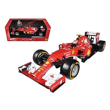 Hot wheels 2014 Ferrari F1 F14 T Formula 1 F2014 Kimi Raikkonen 1-18 Diecast Car Model (DTDP2289)