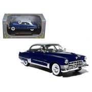 Signature Models 1 by 32 Diecast 1949 Cadillac Series 62 Sedan Dark Blue Model Car (DTDP3062)