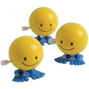 US Toy Wind Up Hopping Smiley Faces - 12 Per Pack - Pack of 6 (USTCYC173522)