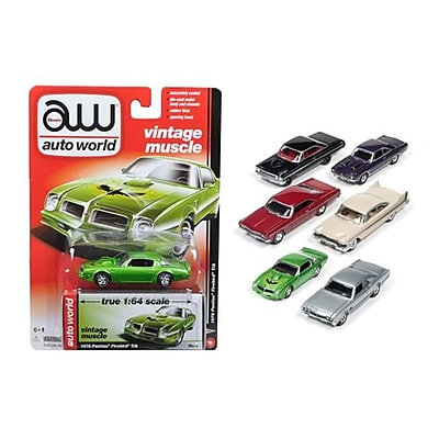 Autoworld 1 by 64 Diecast Muscle Cars