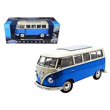 Welly 1962 Volkswagen Microbus Blue 1-18 Diecast Car (DTDP1111)