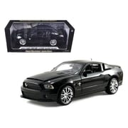 Shelby Collectibles 2010 Ford Shelby Mustang GT500 Super Snake Black 1-18 Diecast Model Car (DTDP1060)