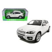 Welly 2011 2012 BMW X6 White 1-18 Diecast Car (DTDP1137)