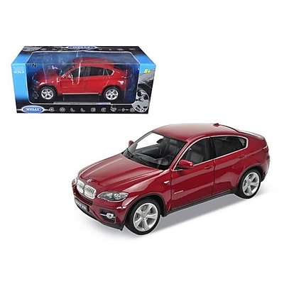 Welly 2011 2012 BMW X6 Red 1-18