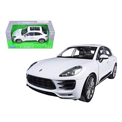 Welly Porsche Macan Turbo White 1-24 Diecast