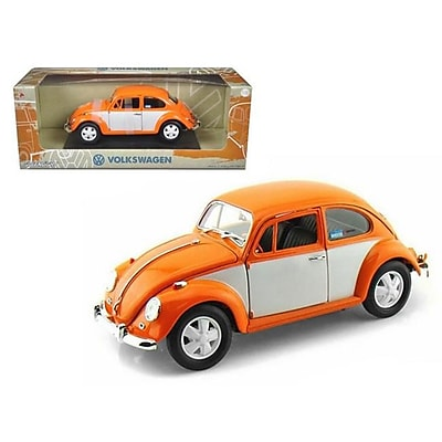 Greenlight 1967 Volkswagen Beetle Orange White 1-18