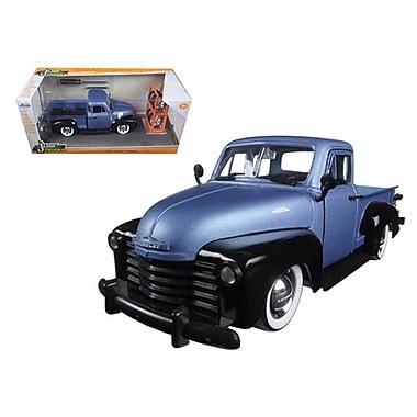 Jada 1953 Chevrolet Pickup Truck Blue & Black Just Trucks with Extra Wheels 1-24 Diecast Model (DTDP1579)