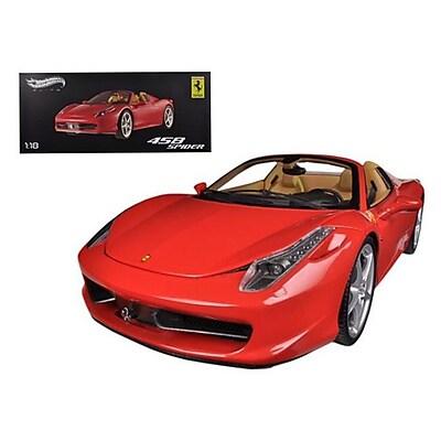 Hot wheels Ferrari 458 Spider F1 Red