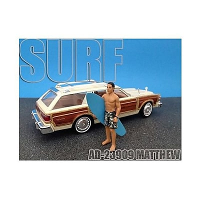 American Diorama Surfer Matthew Figure for 1-24