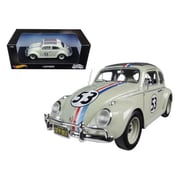 Hot wheels Volkswagen Beetle The Love Bug Herbie No.53 1-18 Diecast Model Car (DTDP1860)