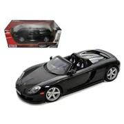 Motormax Porsche Carrera GT Black with Black Interior 1-18 Diecast Model Car (DTDP566)