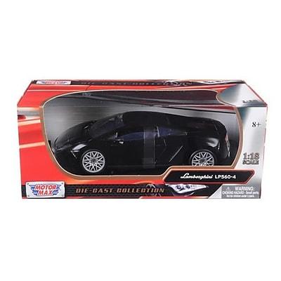 Motormax Lamborghini LP 560-4 Black 1-18 Diecast