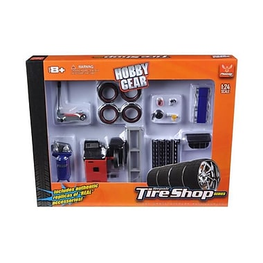 Phoenix Toys Tire Repair Shop Accessories Set Ford 1-24 Diecast Model Cars (DTDP2662)
