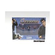 American Diorama Greezerz 3 Piece Figure Set for 1-64 Diecast Model Cars (DTDP2242)