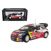 Norev Citroen DS3 No.1 WRC World Champion Rally Great Britain 2011 Loeb Elena Red Bull 1-18 Diecast Model Car (DTDP1271)