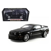 Shelby Collectibles 2008 Ford Shelby Mustang GT 500 Super Snake Black 1-18 Diecast Model Car (DTDP1056)