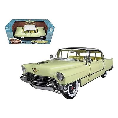 Greenlight 1955 Cadillac Fleetwood Series 60 Yellow