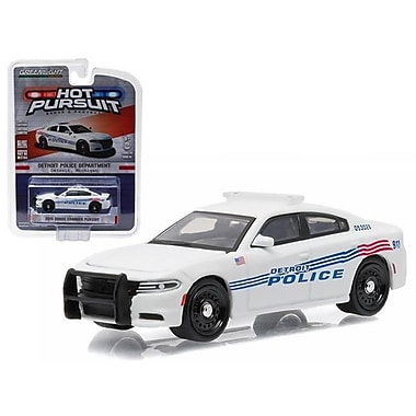 Greenlight 2015 Dodge Charger Pursuit Detroit Police Car Diecast Model Car for 1-64 Scale (DTDP3761)