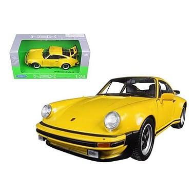 Welly 1974 Porsche 911 Turbo 3.0 Yellow 1-24 Diecast Model Car (DTDP1227)