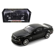 Shelby Collectibles 2008 Ford Shelby Mustang GT500KR Black 1-18 Diecast Model Car (DTDP1055)